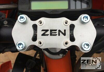 Zen Overland - KTM CNC Top Bar Clamp - GPS Mount Garmin AMPS EXC EXCF Adventure • 29£