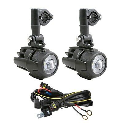 Motorcycle LED Auxiliary Spot Fog Light Safety Driving Spotlight For BMW • 46.99£