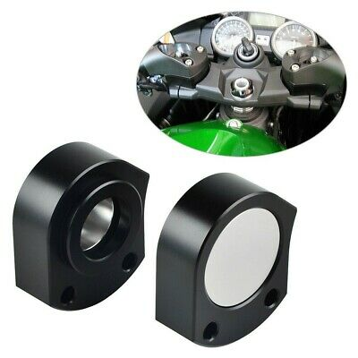 25mm Black CNC Handlebar Riser Moves Bar Up For Kawasaki Ninja ZX-14R ZZR 1400 • 10.50£