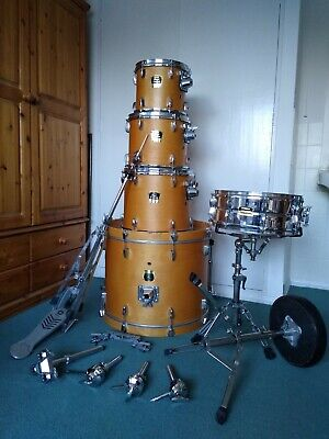 Yamaha Drum Kit 5 Piece Shell Pack Plus Some Hardware Very Good Condition • 230£