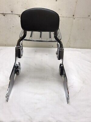 Harley Davidson Backrest And Rack Chrome With Quick Release • 130£