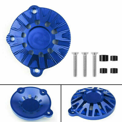 CNC Aluminum Engine Stator Cover Guard Protector Fits Kawasaki Z900 2017 Blue UK • 27.95£