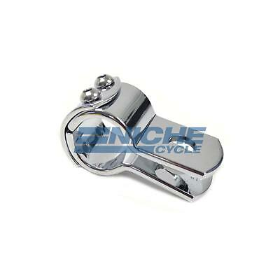 3-Piece Exhaust Frame Footpeg Hanger Motorcycle Clamp Chrome 1  • 9.24£