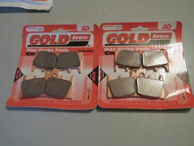 Front Brake Disc Pads Zx-7r 1996 To 2003 Gold Fren Hh Ceramic • 17.99£