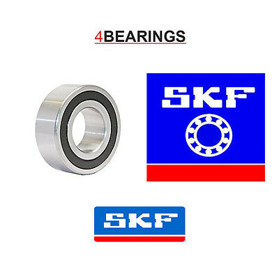 Skf 6204 2rs Deep Groove Ball Bearing (20x47x14) • 3.29£
