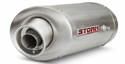 Exhaust Zx 6 R Storm Stainless Steel Oval Kawasaki Year 2007 To 2008 • 244.79£