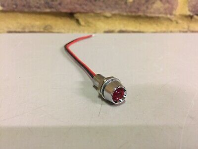 Motorcycle Storehouse RED LED INDICATOR LAMP ASSEMBLY For Harley-Davidson • 6£