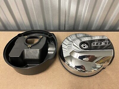 Genuine Harley-Davidson Air Cleaner COVER Chrome Twin Cam 103 61300273, 29000033 • 50£