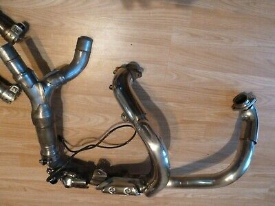 Yamaha MT-01 'Full' Exhaust System. Headers To Silencers In Excellent Condition • 985£
