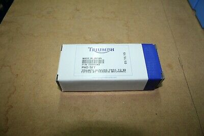Genuine Triumph Front Brake Pads For Various Models - See Listing - T2020543 • 20£