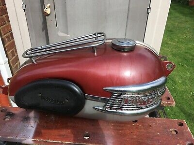 Triumph Motorcycle Fuel Tank. 1961 Super Condition For Year No Dents(or Leaks • 300£