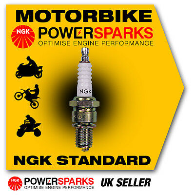 NGK Spark Plug Fits HONDA CBF250 250cc 04-> [CR8EH-9S] 7750 New In Box! • 8.24£
