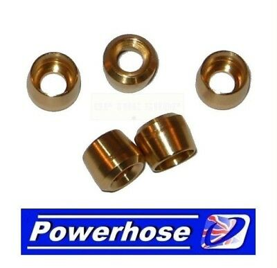 AN-3 An3 Brake Hose OLIVE Insert 5 Pack Venhill Powerhose System 3/756 • 6.99£