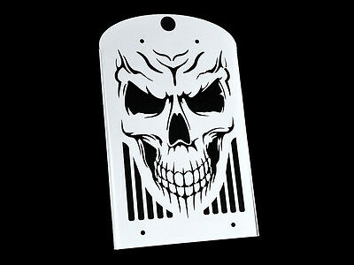 Kawasaki Vn1600 Classic Nomad Skull Stainless Steel Radiator Grill Cover Guard  • 56.95£