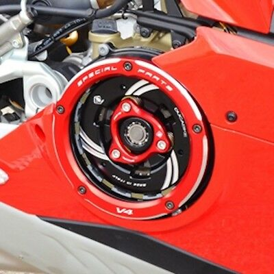 Ducabike Ducati Panigale V4 Clear Clutch Cover Kit • 395£