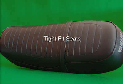 Motorcycle Seat Cover  YAMAHA RD250C & RD400C Complete With Strap - • 37.75£