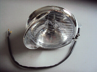2x 5  Chrome ABS Cruiser Motorbike Motorcycle Scooter Car Spotlight Minor 2nds • 19.94£