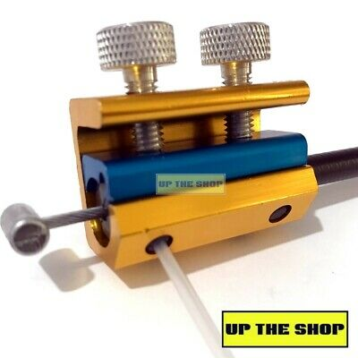 UTS Cable Lubricator Oiler MX Motorbike Motorcycle Cycle Throttle Clutch Brake • 6.49£