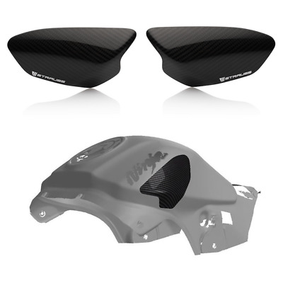 Strauss Kawasaki ZX10R Carbon Fibre Tank Sliders 2011-2019 - Gloss • 109£