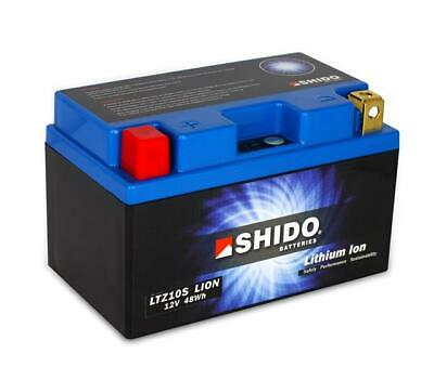 Shido Lithium Ion Lightweight Motorcycle Battery Yamaha Yzf R6 2co 13s 2006-2016 • 97.95£