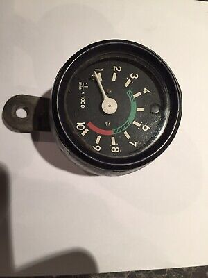Old Italian Moped Rev Counter Clock 1970s On  • 21£