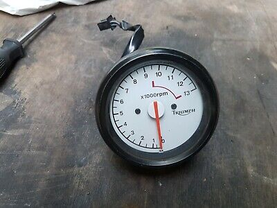 Triumph Daytona Speed Triple Rev Counter Clocks Tacho Instruments • 25£