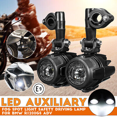Spot Auxiliary Fog Light LED Motorbike Safety Motorcycle Driving For BMW  • 54.99£