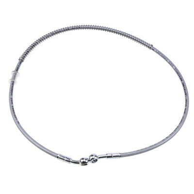 DOT Grey 90cm Motorcycle Brake Clutch Oil Hose Line Pipe Stainless Steel Scooter • 16.49£