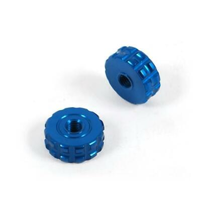 Blue Thumb Wheel Roller Adjusters Pair For Asv C5 F3 Brake & Clutch Levers • 19.95£