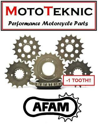AFAM -1 Tooth 13T Front Sprocket Honda VT125 Shadow X-7 99-07 • 14£