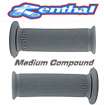 Renthal Road Race Motorcycle Grips (Pair) Medium Compound G148 • 10.49£