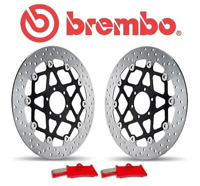 Kawasaki ZX6R F1-F3 95-97 Brembo Complete Front Brake Disc And Pad Kit • 434£