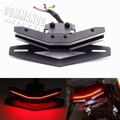 Tail Tidy License Plate Holder Fender Eliminator LED Lights For 790 2017-2020  • 102.02£