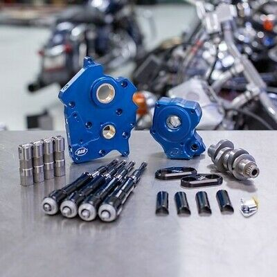 S&S Chain Drive 475C Cam Chest Kit W/ Black Tubes Harley Water Cooled M8 17-Up • 883.37£