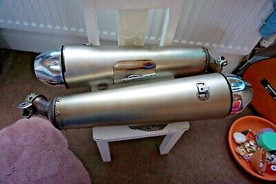 Yamaha Mt-01 Mt01 Oem Standard Exhaust Cans Left And Right  • 150£