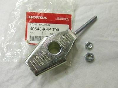 Genuine Honda Cbr125 2011-2016 Chain Adjuster With Nuts (40543-kpp-t00 ) • 8.25£