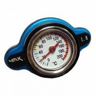 4MX 1.8 Bar Navy Blue Rad Cap Thermo Safety Gauge For KTM EXC/SX/SXF/XC 17-18 • 29.95£