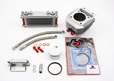 Honda GROM Big Bore Kit With Oil Cooler TB Parts 186cc MSX125 & Monkey TBW9154 • 284.53£