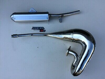 Yamaha Dt125r Dtr125 1989-2003  Dep Pipes Complete Exhaust System Silencer Dt125 • 319£