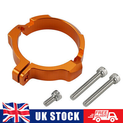 CNC Exhaust Flange Guard Protector For 250/300 XC/SX/XCW/XC-W Six Days/TPI 17-21 • 15.99£