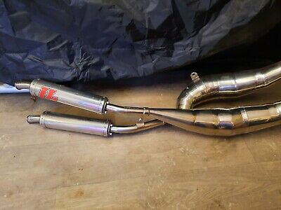Yamaha RD 350 Ypvs LC Jim Lomas Exhaust Pipes Expansion Chambers GP Style • 500£
