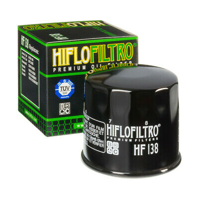 HiFlo HF138 Oil Filter For KYMCO  Sachs  Suzuki • 6.85£