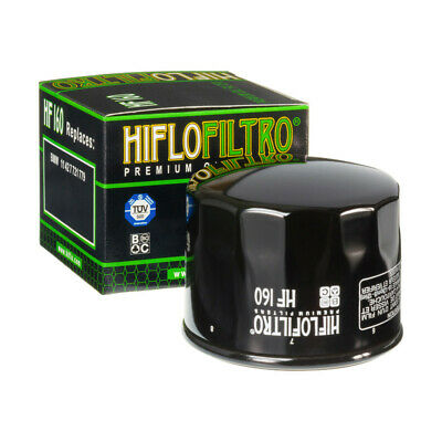 HiFlo HF160 Oil Filter For BMW S1000 RR 10 11 12 13 14 15 16  • 8.39£