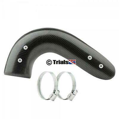 Jitsie GasGas Short Carbon Exhaust Guard - TXT PRO/RAGA/RACING/FACTORY/GP • 59.98£