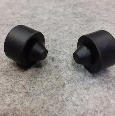 Motorcycle  Seat Stop Rubbers X 2 • 6£