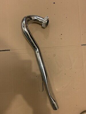 Tiger Cub High Level Exhaust Pipe And Aluminium Clamp • 65£