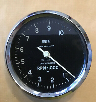 Triumph BSA Norton Velocette Enfield Smiths Chronometric Rev Counter 4:1 RC1307 • 235£