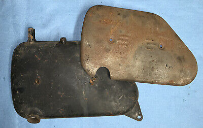 AJS Matchless Oil Tank With Heat Shield Used • 45£