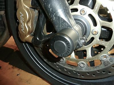 Triumph Tiger 1050 / Sport / Se Front Axle Crash Mushrooms  Slider Protector S7v • 25.10£