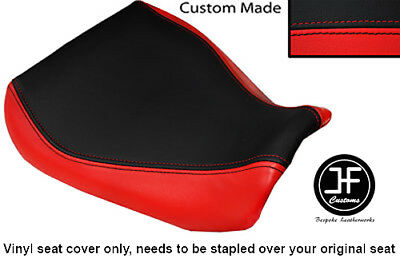 Red & Black Vinyl Custom Fits Yamaha Fzr 250 86-94 Front Rider Seat Cover Only • 54.99£